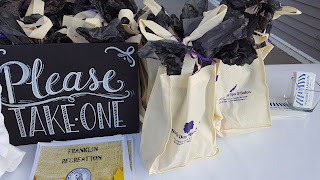 free gift bags for the first 50 families