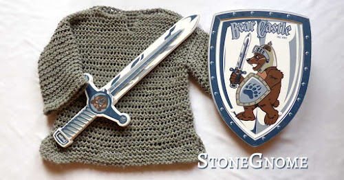 How to crochet a chain mail
