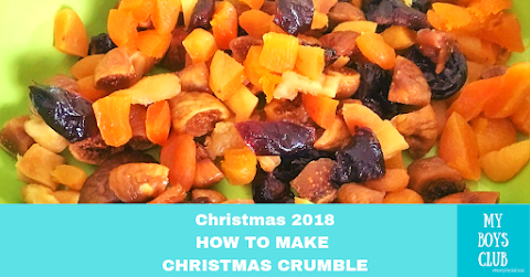 Recipe: How to Make Christmas Crumble