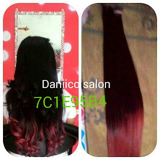 Hair Extension Ombre 70cm