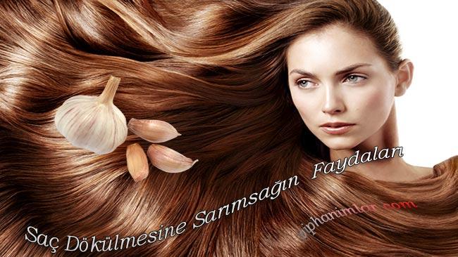 Saç Dökülmesi İçin Sarımsağın Faydaları - www.viphanimlar.com