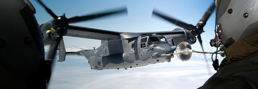 ВПС США вивчають можливість використання приватних повітряних заправників