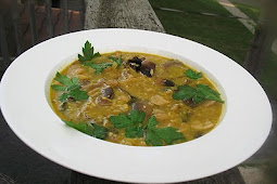 Thai Mushroom Soup with Coconut