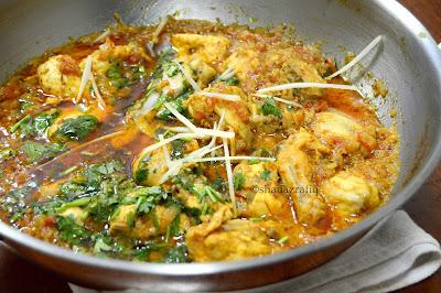 Pakistani Street Style Chicken Kadhai