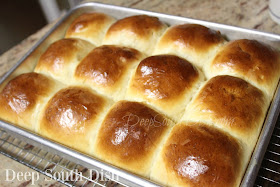 Big, fluffy and tender yeast rolls, reminiscent of those old school cafeteria rolls so many of us loved.