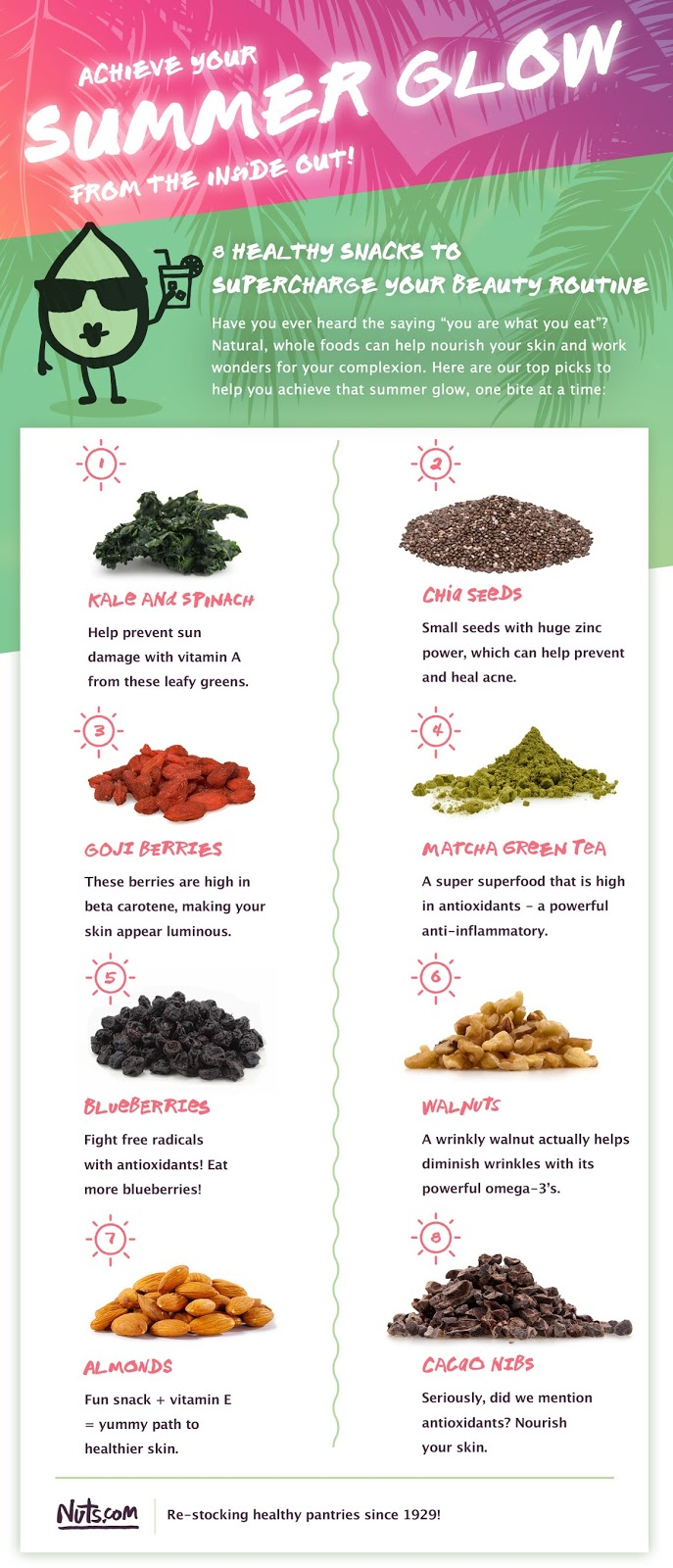 Superfoods Health Benefits Nuts.com - Andrea Tiffany A Glimpse of Glam