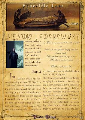 Alejandro Jodorowsky article by Sekte