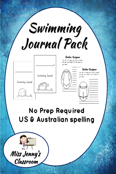 https://www.teacherspayteachers.com/Product/Swimming-Journal-Booklet-Pack-NO-PREP--537742