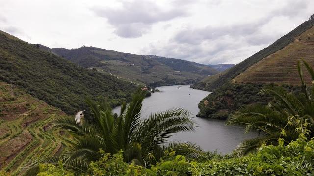 Paisagem, Douro, rio, natureza