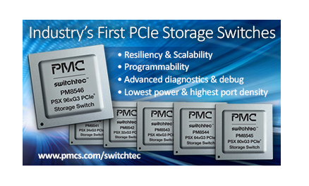 Converge! Network Digest: PMC Debuts Fastest SSD Contrillers