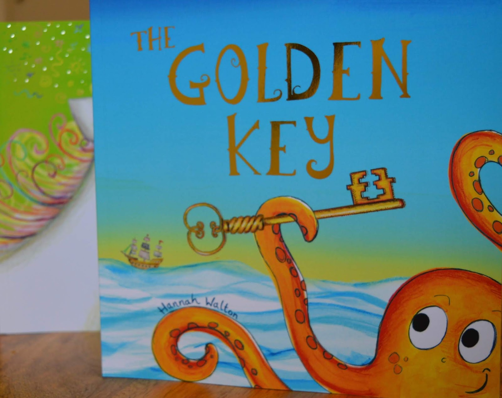 Bang on Books Review - Personalised Adventure Stories for Kids (made in Newcastle) - the golden key cover