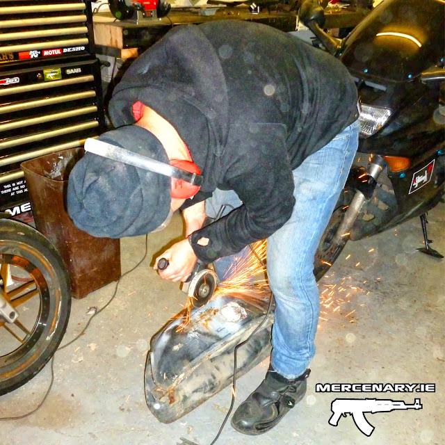 Mercenary Garage - Honda CBR1000F