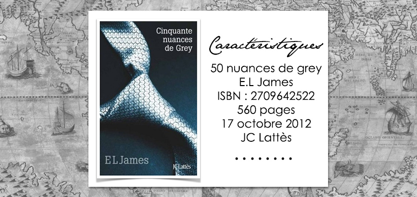 Couverture du livre 50 nuances de Grey de E.L James
