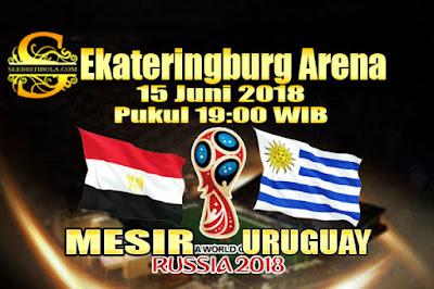 JUDI BOLA DAN CASINO ONLINE - PREDIKSI PERTANDINGAN PIALA DUNIA 2018 MESIR VS URUGUAY 15 JUNI 2018