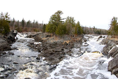 St. Louis River, downstream from PolyMet