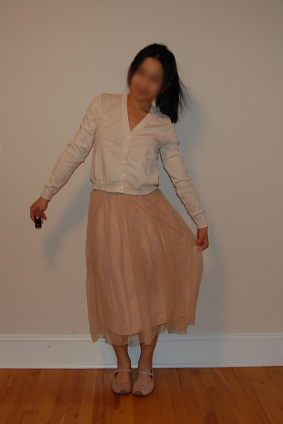 Urban Outfitters Order + Small Tulle Skirt