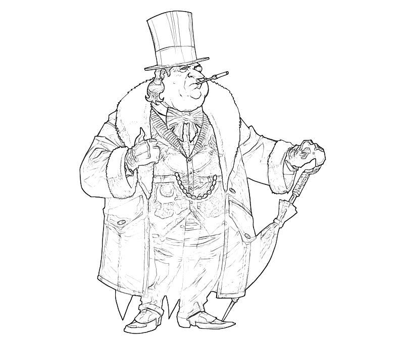 Batman Arkham City The Penguin Character | Tubing