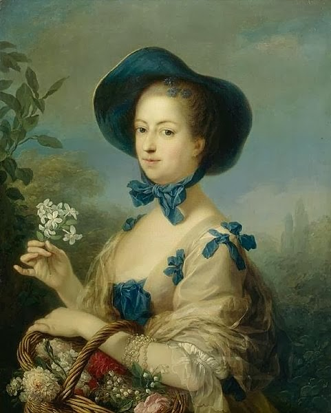 The Marquise de Pompadour as a Gardener by Charles-André van Loo, 1754