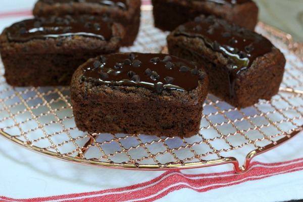 Mini Chocolate Zucchini Bread