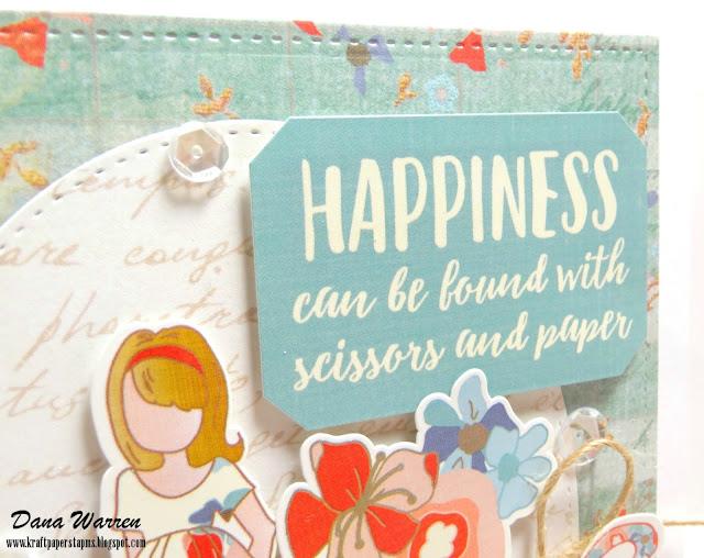 Dana Warren - Kraft Paper Stamps - Photo Play Paper