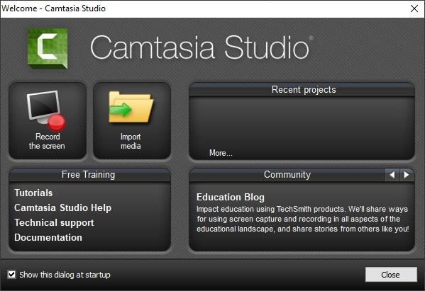 تحميل كامتزيا ستديو لتسجيل شاشه الكمبيوتر Download Studio Camtasia مجاني برابط مباشر