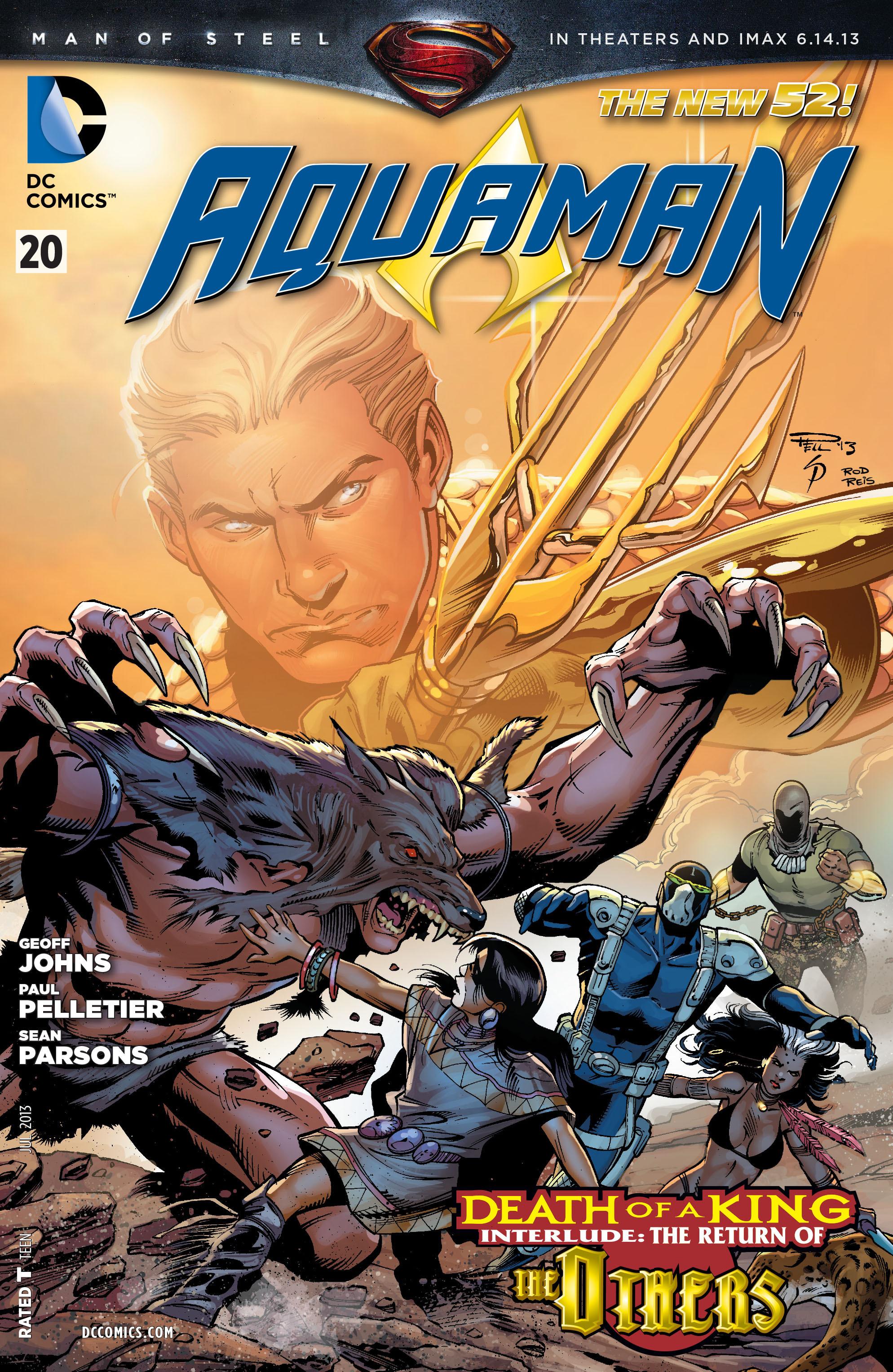 Read online Aquaman (2011) comic -  Issue #20 - 1