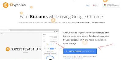 Cara Mendapatkan Bitcoin Gratis Dengan Cepat Menggunakan CryptoTab (Cepat Kaya)