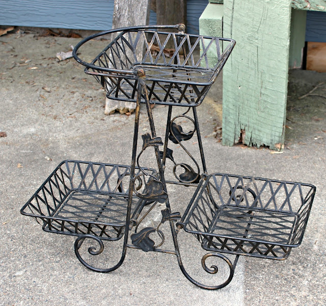 New Wrought Iron Garden Finds organizedclutter.net