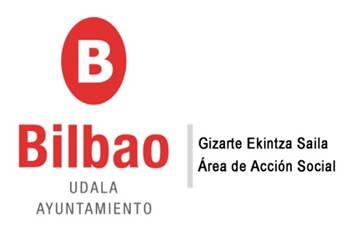 Resultado de imagen de bilbao accion social logo
