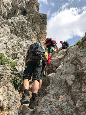 Übers Gatterl auf die Zugspitze  Alpentestival Garmisch-Partenkirchen   Gatterl-Tour auf die Zugspitze über ehrwalder Alm und Knorrhütte 11