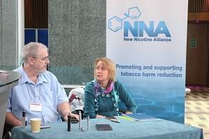 Sarah Jakes et David Dorn de la NNA (UK)