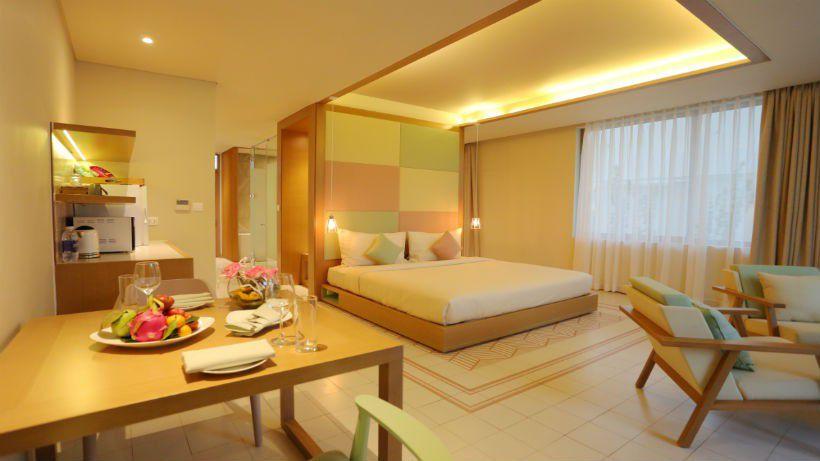 Bên trong căn hộ khách sạn FLC Sầm Sơn