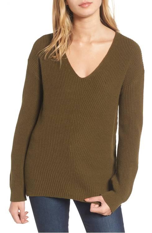 bp v neck sweater