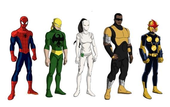La atalaya nocturna ultimate spider man peter parker - Nova ultimate spider man ...
