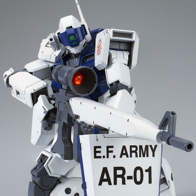 P-Bandai: MG 1/100 GM Sniper II [White Dingo]