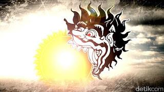 batara kala memakan matahari dalam gerhana
