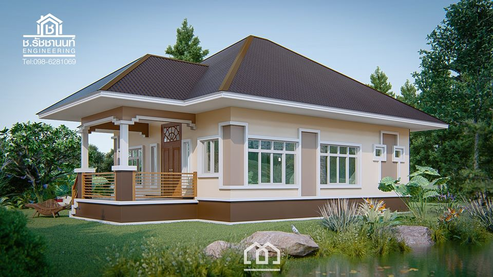 """Looking for a popular house design to build for your family? A house design that may not get old even 20 years from now? If yes, you are looking for a contemporary house design. But let us define first what is contemporary design? According to Wikipedia, Contemporary architecture is the architecture of the 21st century. Some say it is an art of today. By definition, it means, """"existing, occurring or living at the same time"""".  Currently contemporary home features a large, unique or odd shapes windows, with an open plan that blends with surrounding landscape. In a contemporary home, comfort and sustainability are the two important factor to observe.  Below are samples of contemporary house design from TM design.  This article is filed under Small House, Small Home Design, Beautiful Small House Design, Small House Plans Modern, Simple Small House Design and Bungalow House Design."""