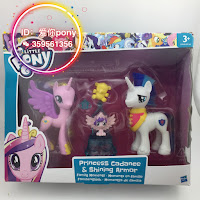 MLP Original Series Reboot Family Moments Friendships Brushable Set