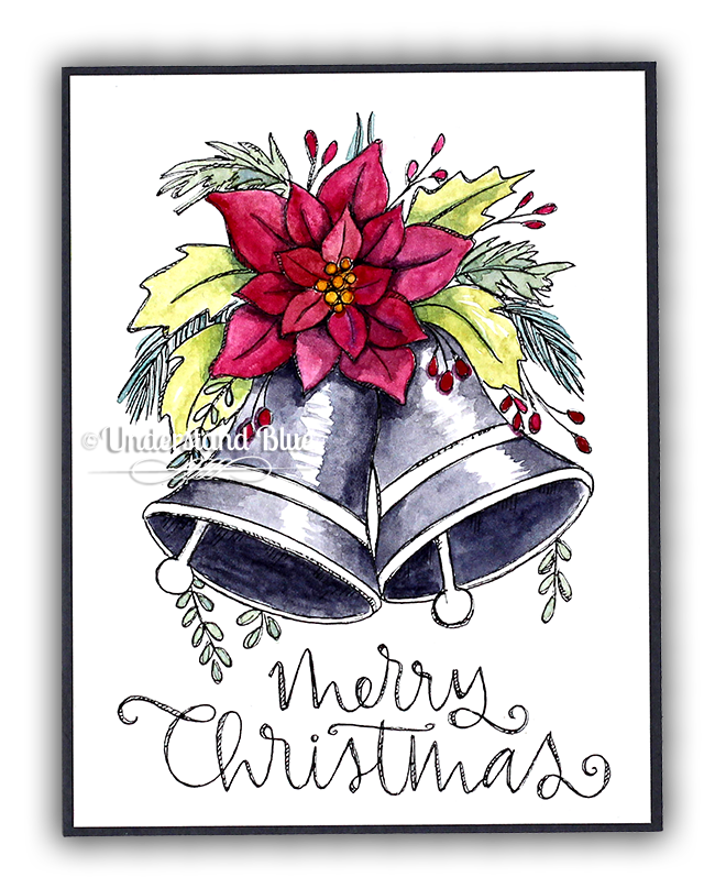 Watercolor Coloring cards by Understand Blue