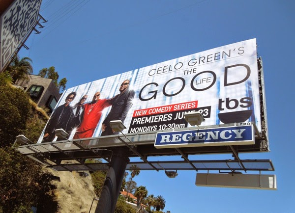 CeeLo Green's Good Life series premiere billboard