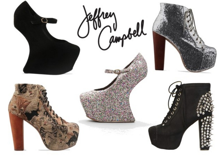Jeffrey Campbell wantings. – Saline Simon