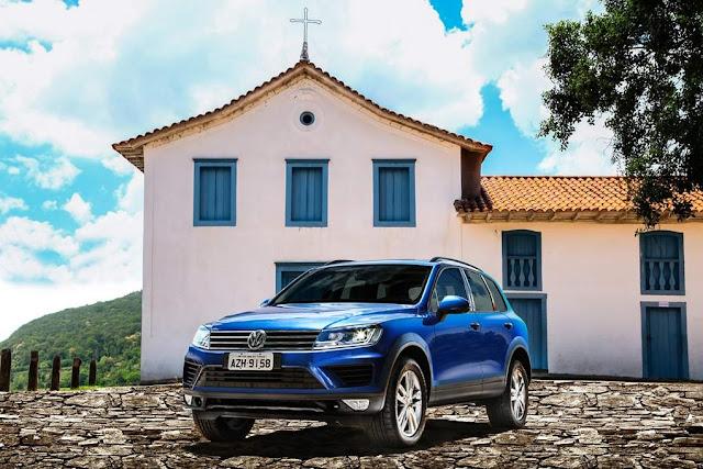 VW Touareg Azul Reef