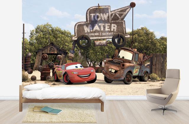 Lastenhuoneen Tapetti Lasten Tapetti Disneyn Autot Disney Cars