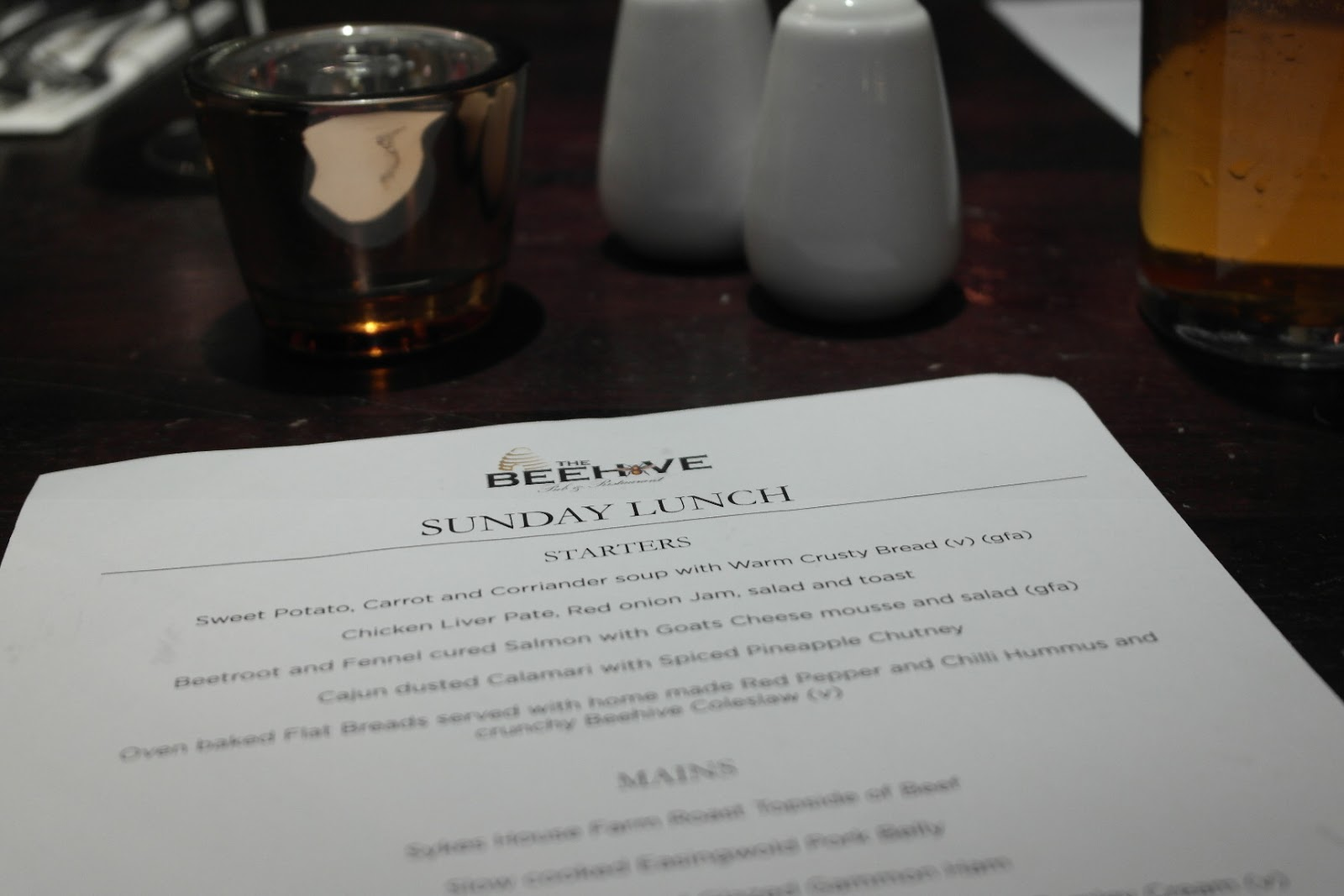 The Beehive Leeds Review