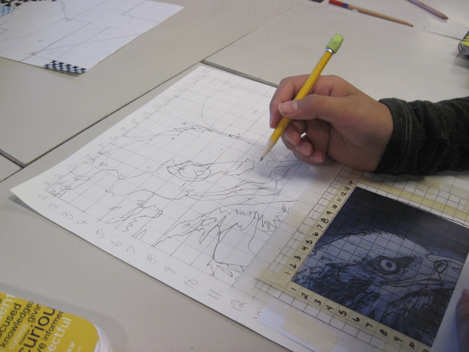 D Line Drawings Value : Art expedition