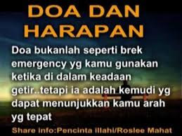 Wordless Wednesday # 632...Doa Dan Harapan