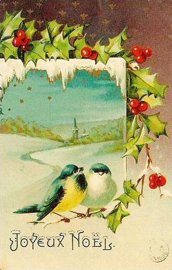Carte postale ancienne Joyeux Noël