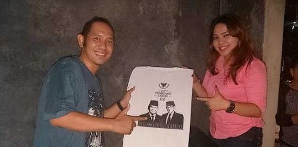 Jelang Kampanye Akbar, Relawan Prabowo Lancarkan Program Sablon Gratis