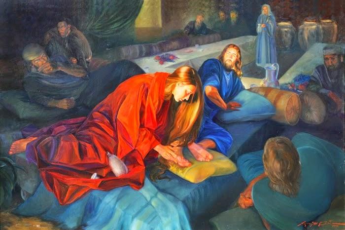 Image result for john 12:1-11