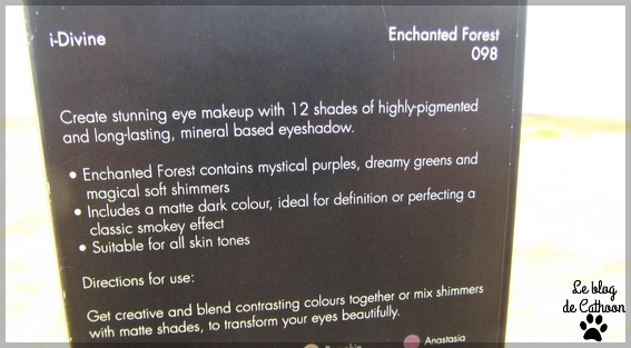 Fards palette Enchanted Forest - Sleek
